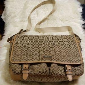 COACH LAPTOP/MESSENGER BAG
